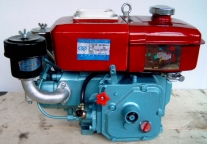AMC Unilube - Motoren, Chinesische Dieselmotoren, Changzhou, Rückansicht