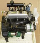Mehrzylinder-Motor von Yangdong, Rückansicht
