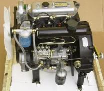 Mehrzylinder-Motor von Yangdong, Vorderansicht
